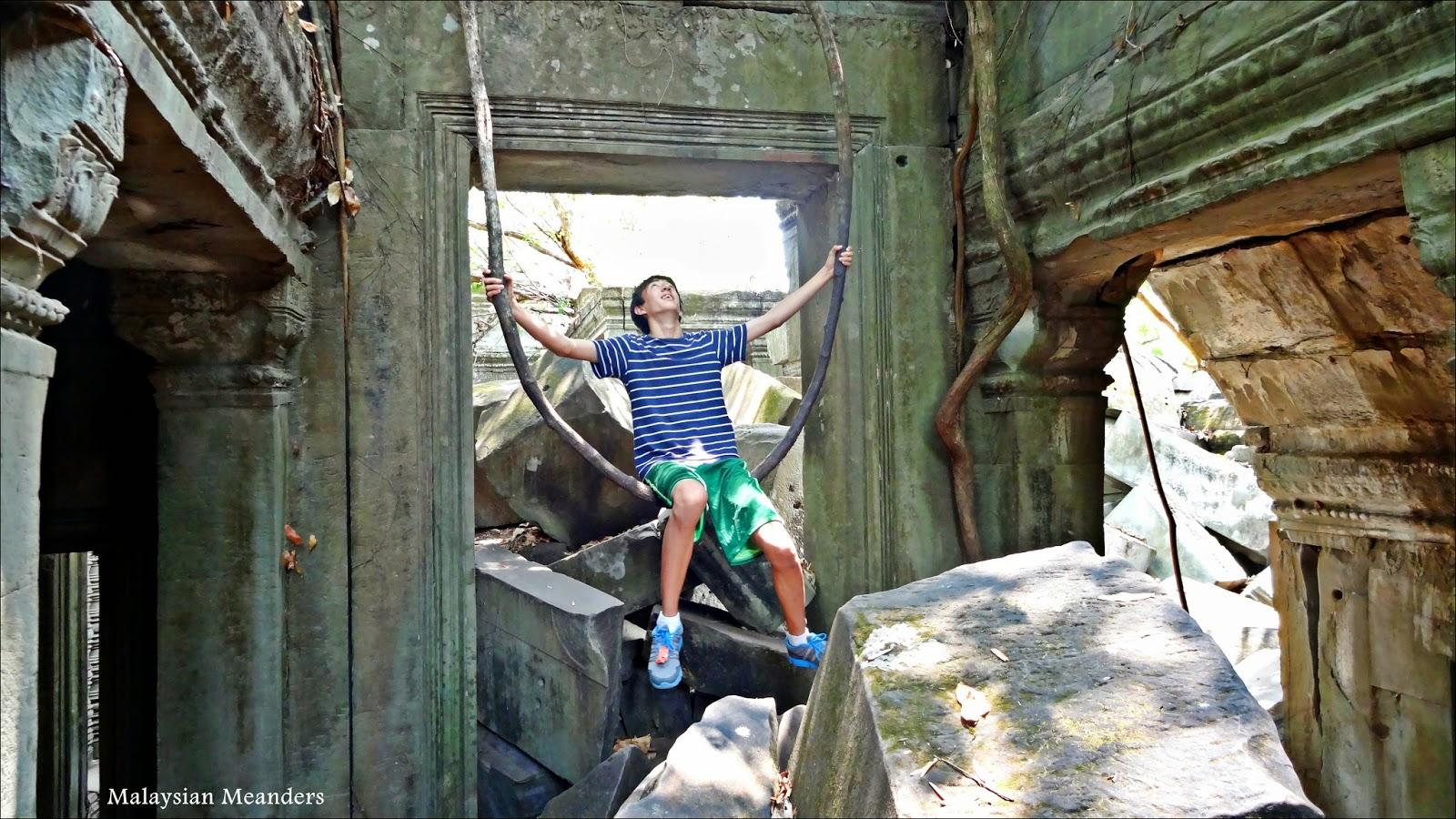 Angkor, Siem Reap, Cambodia, temple ruins