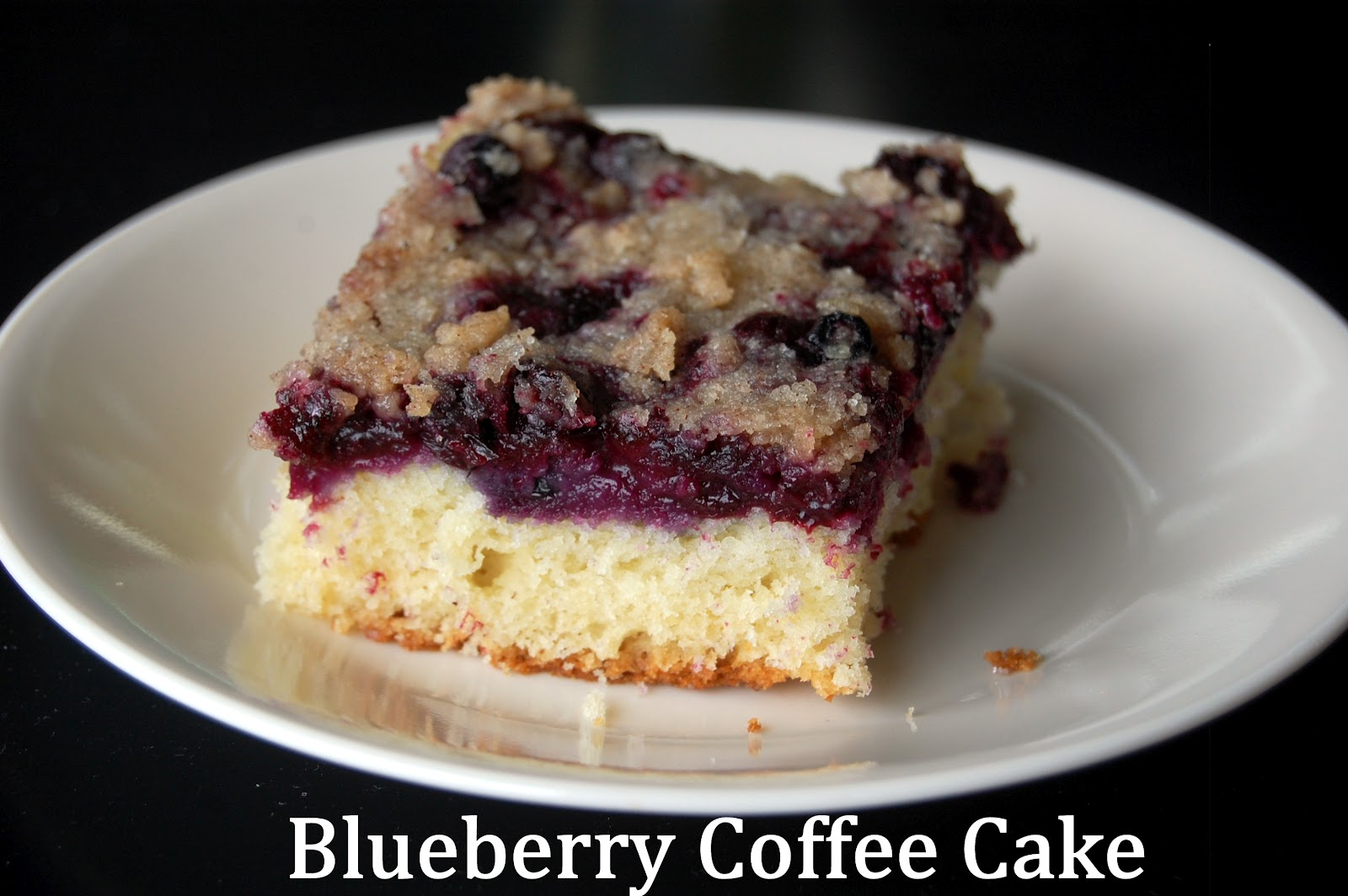 ThriceTheSpice: Blueberry Coffee Cake