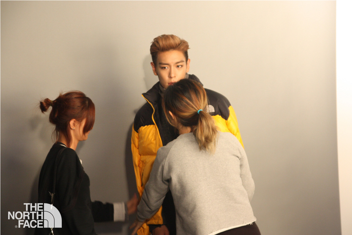 T.O.P for The North Face