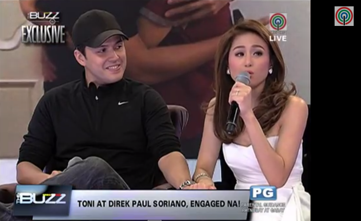 Direk Paul Soriano, Toni Gonzaga are engaged