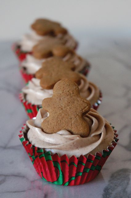 ... with Cinnamon Cream Cheese Frosting topped with Mini Gingerbread Men