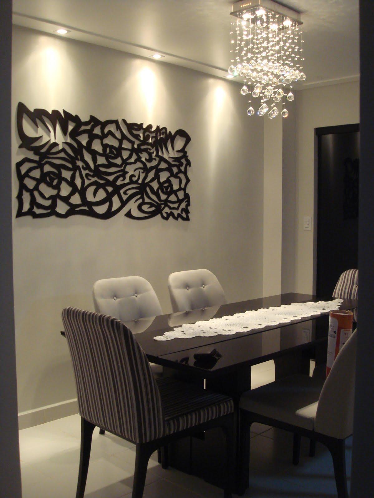 Armario Branco E Vermelho ~ Coisas da Beneh Vestindo a parede da sala de jantar