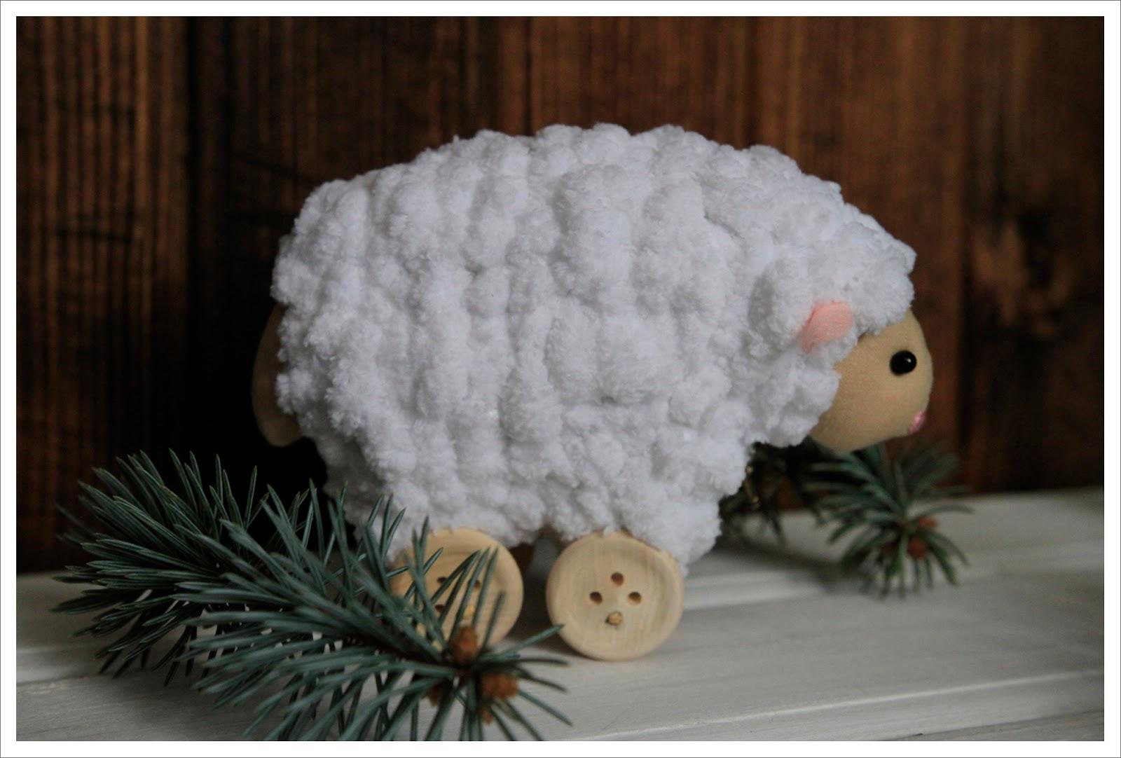 овца на колесиках