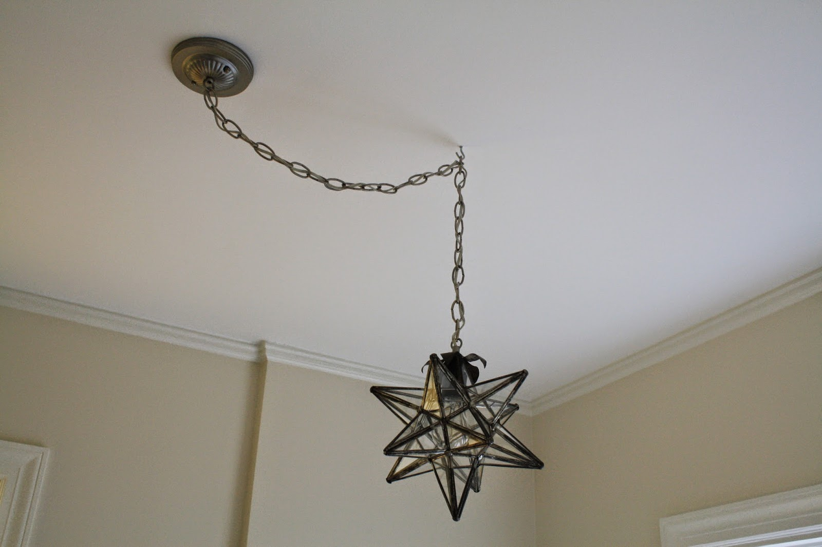 Moravian Light - How to fix - how to convert to pendant light