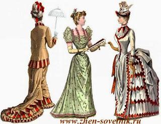 История возникновения платья