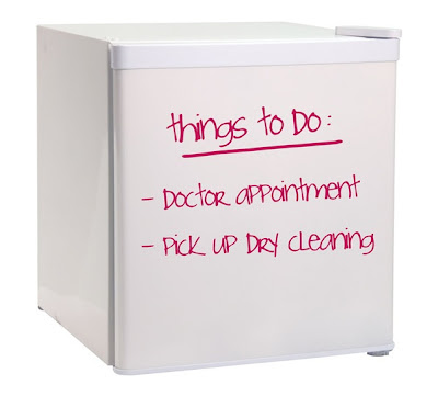 Dry-Erase Write-On Fridge