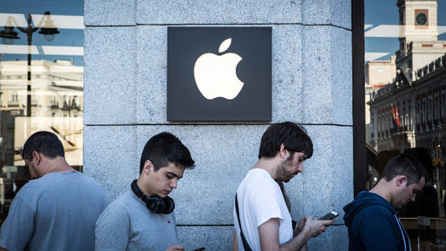 Apple vai pagar 348 milhões de euros a Itália