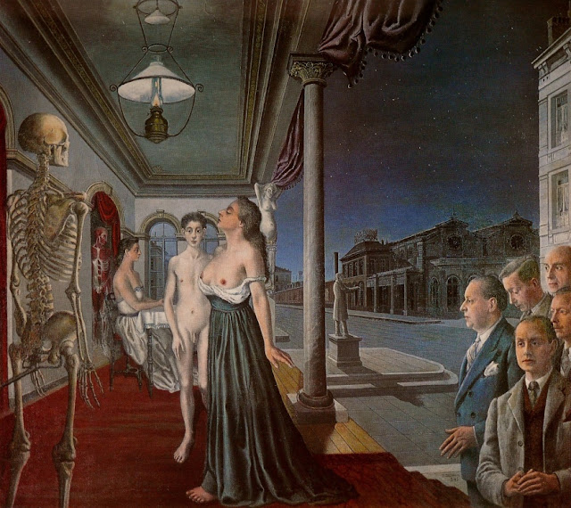 an analysis of venus asleep of paul delvaux 1743) this is the fourth day of my daily art display an analysis of paul delvauxs venus asleep which looks at the set of six hogarth paintings  7-5-2011.