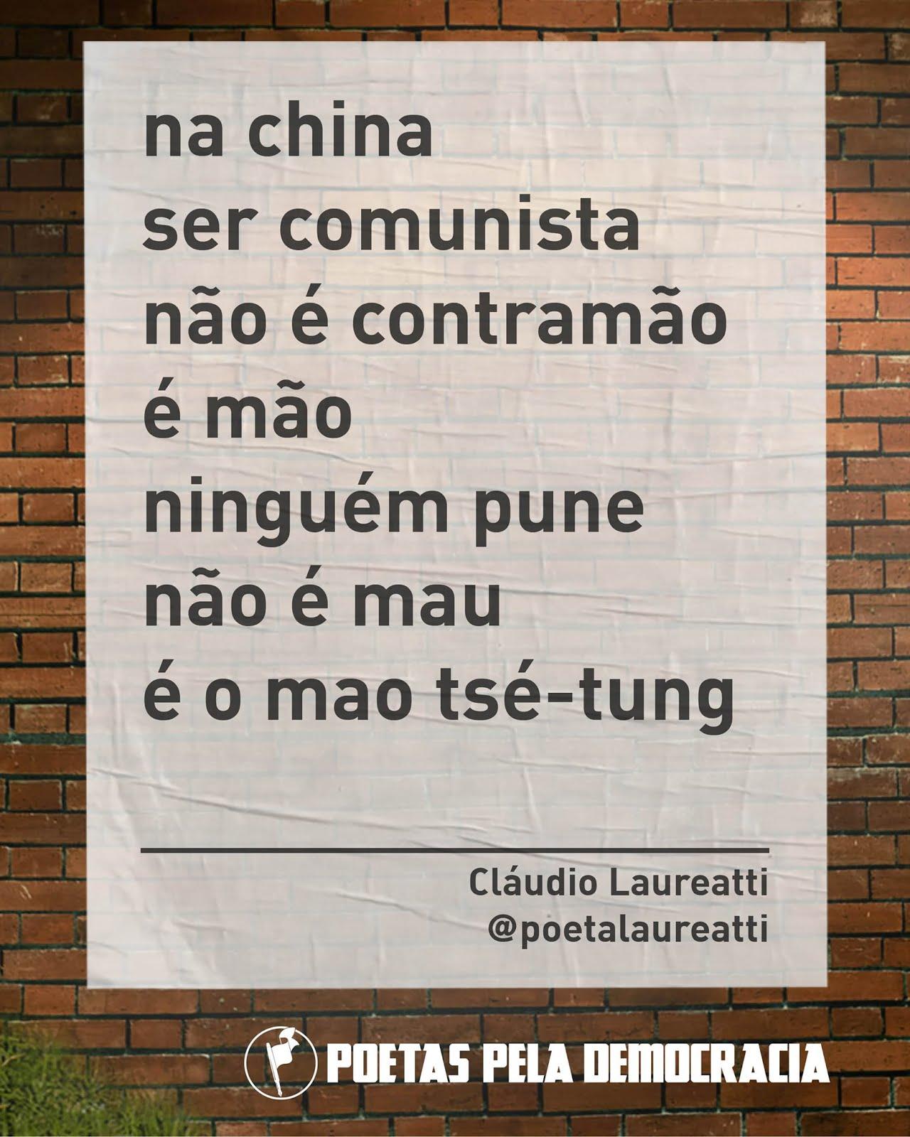 Poetas pela democracia