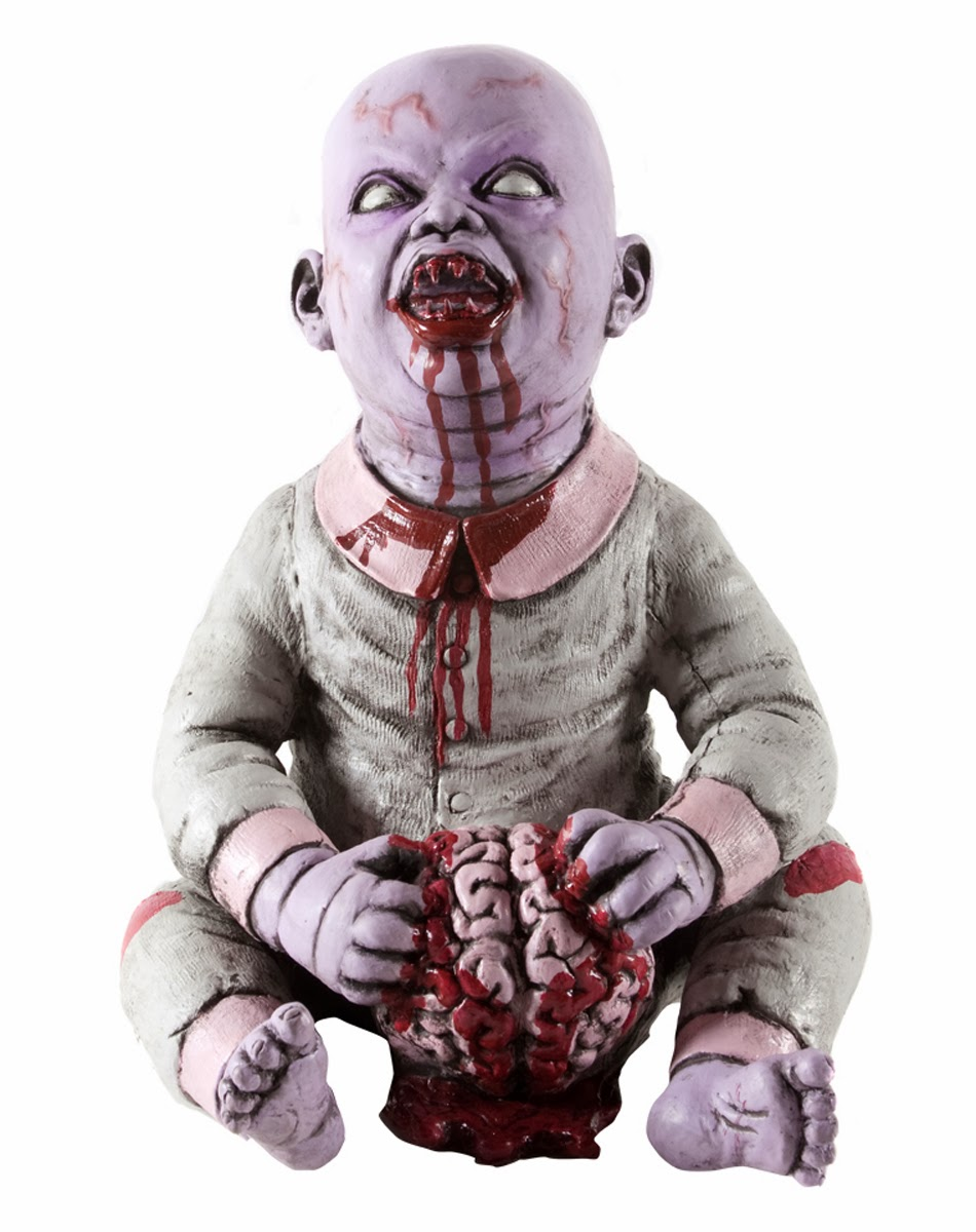 Zombie Babies Infect Spirit Halloween Product Lines