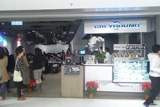 再戰Greyhound~一吃愛上新鮮椰子千層蛋糕!!!!!!