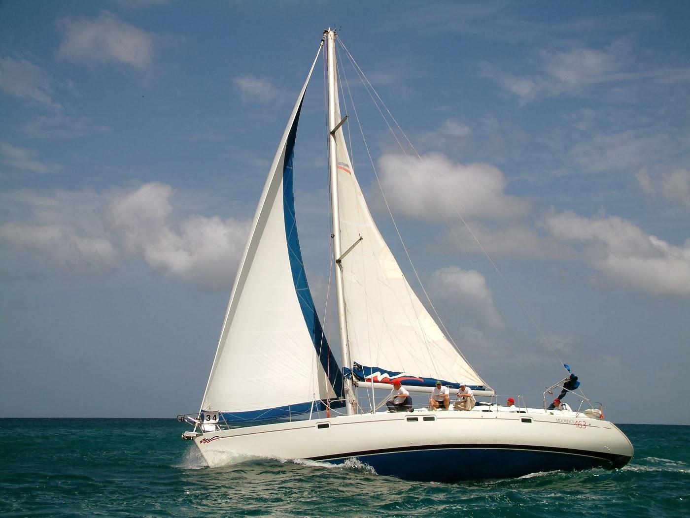 Yacht racing in Tobago - photographer Robert Brent