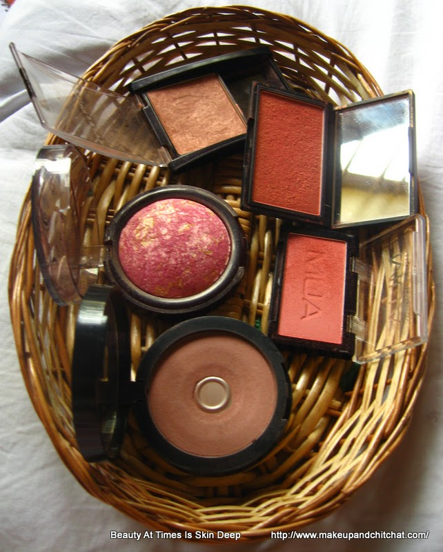 Sleek Rose Gold, Faces Rose Gold, MUA blush, Incolor Blush, Maybelline Fit Me Blush