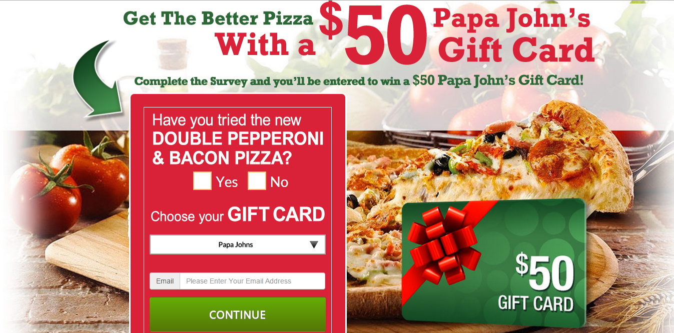 Free Gift Card offers