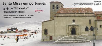 Cartel anunciador de la actividad eclesiástica
