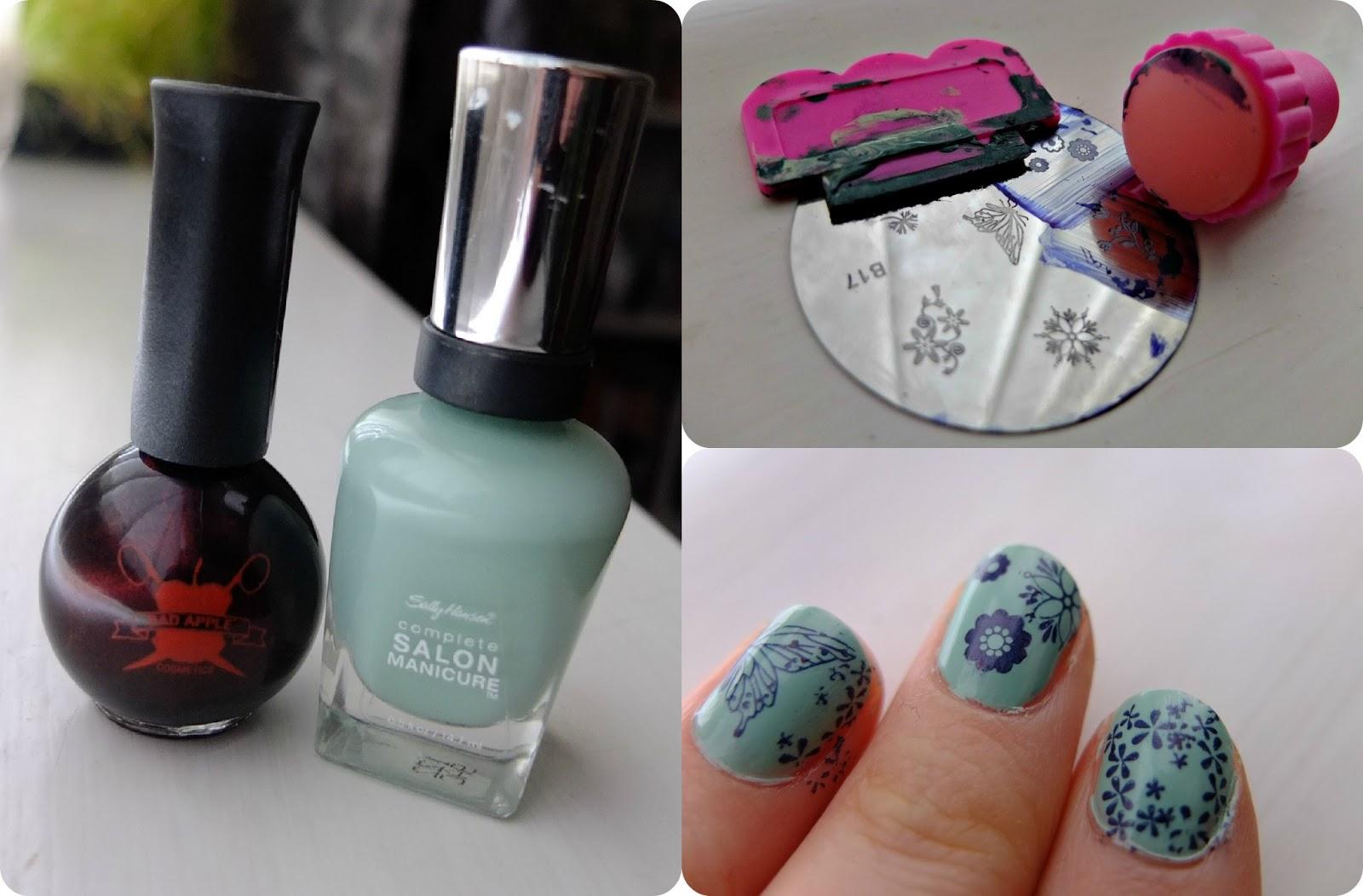 Poundland nail art stamping kit hello terri lowe poundland nail art stamping kit prinsesfo Images