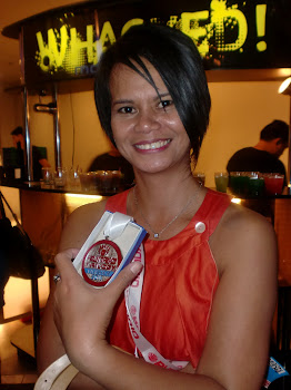 Awardee at the Runrio Trilogy 2010 Awards Night, Decagon Silver City, Frontera Verde, 1 March  2011
