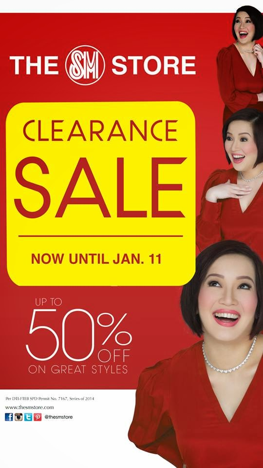 The SM Stores Clearance Sale