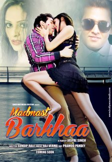 Poster Of Madmast Barkhaa 2015 DVDScr Full Movie Free Download