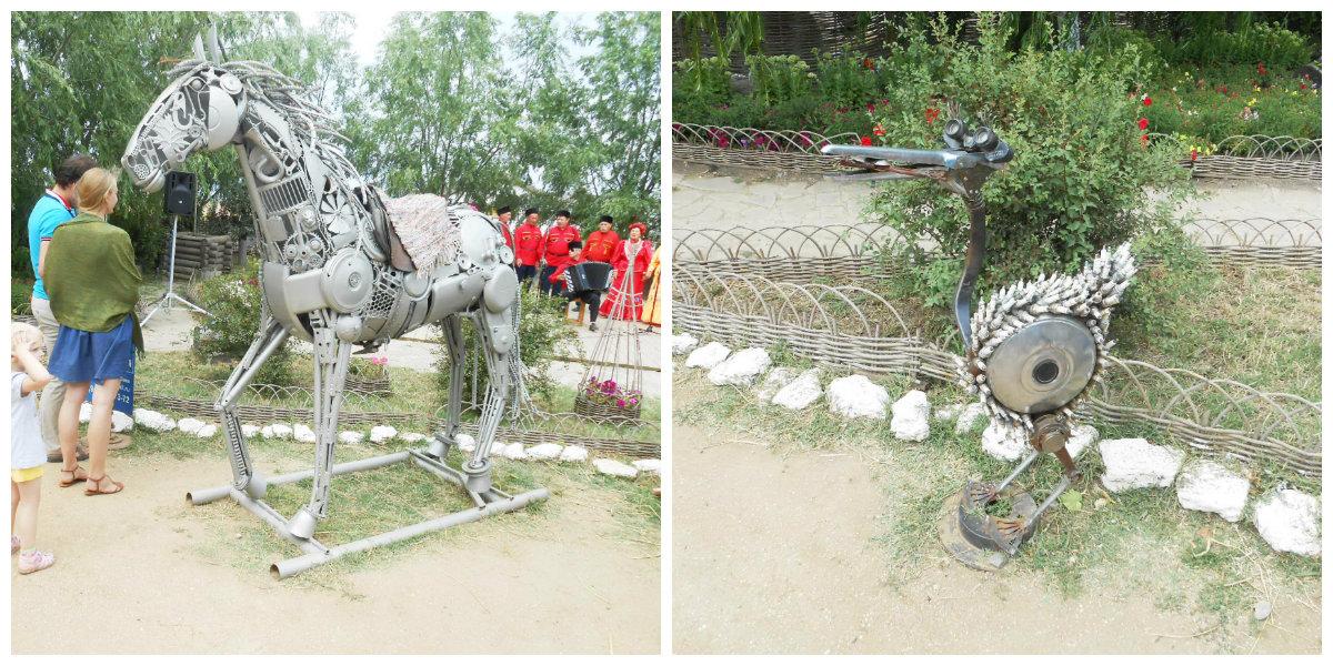 этнографический комплекс «Атамань», железный конь