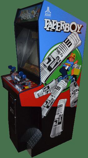 Paperboy Arcade Cabinet