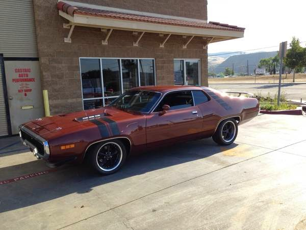 road runner 1971 muscle - photo #39