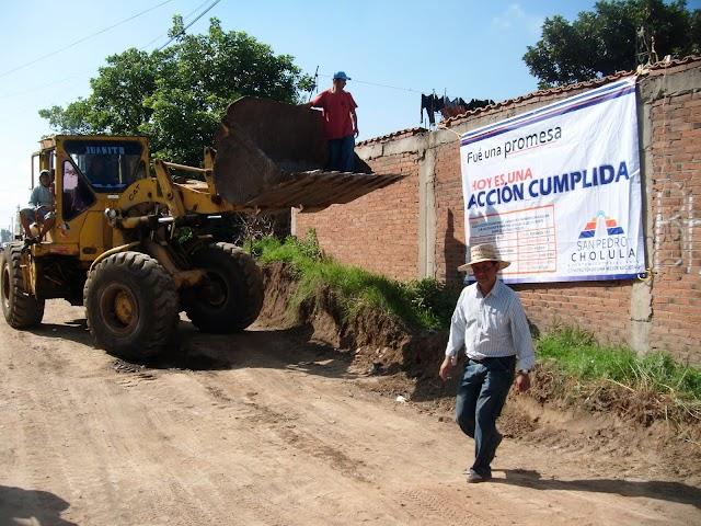Inician obras en Santiago Mixquitla