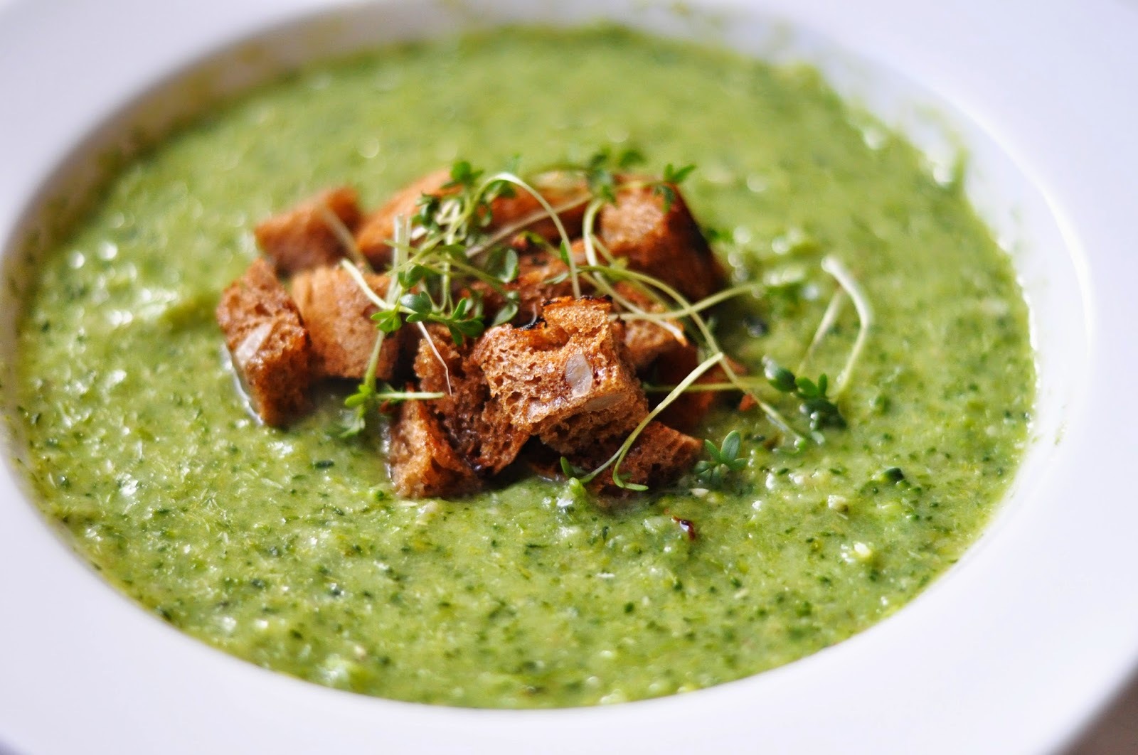 Prosta zupa krem brokułowa