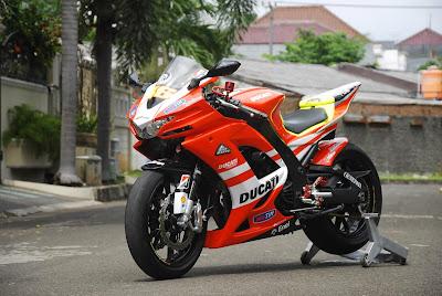 Foto-Foto Modifikasi Kawasaki Ninja 250