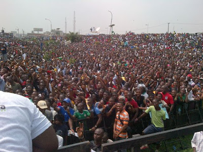 Photos From Today's #OccupyNigeria Protests In Lagos 11