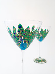 Cocktail Glasses by Toasted Glass