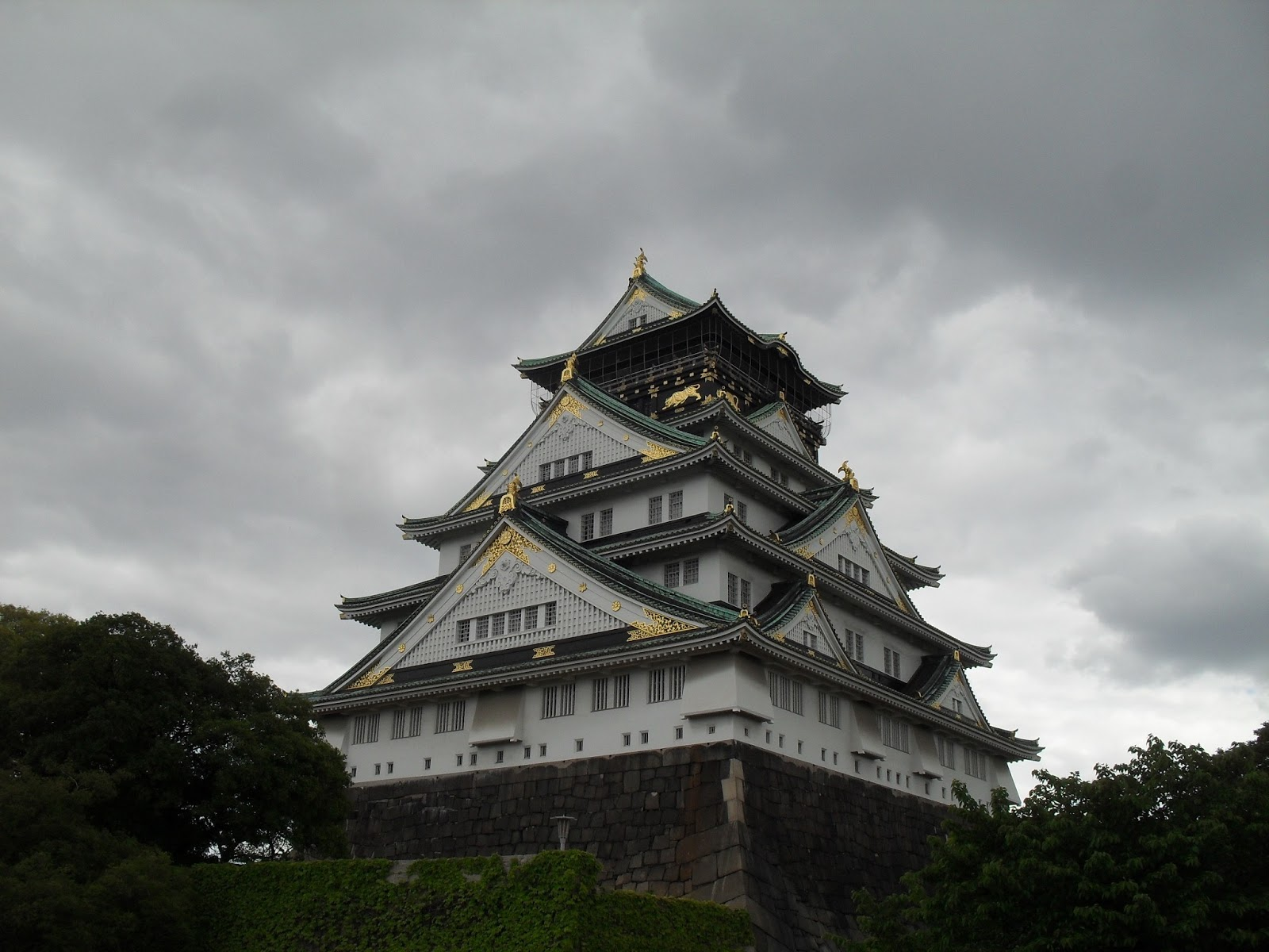 Man in Japan: A trip to Osaka Castle