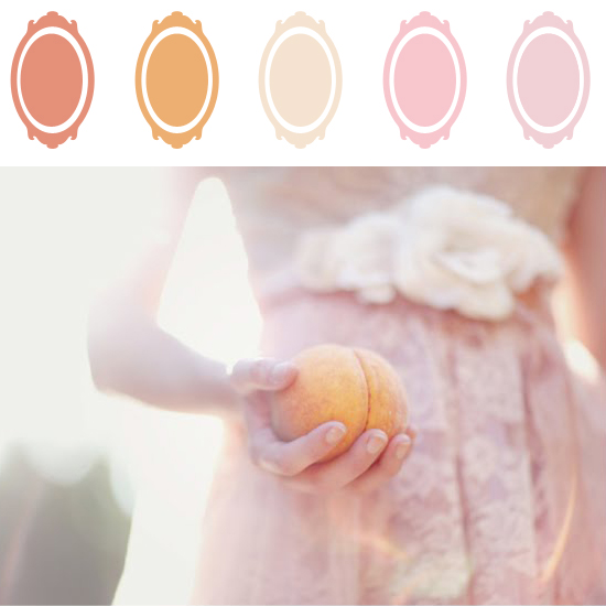 Peach and Blush Color Palette