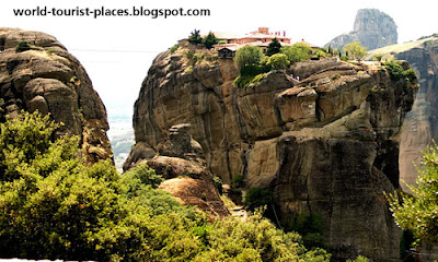 Meteora Greece impressive rock conglomerates