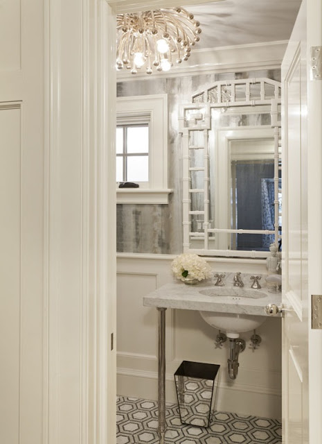 Chinoiserie Chic One Room Challenge Powder Room Inspiration