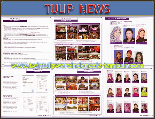 TULIP NEWS - Katalog Twin Tulipware 2014
