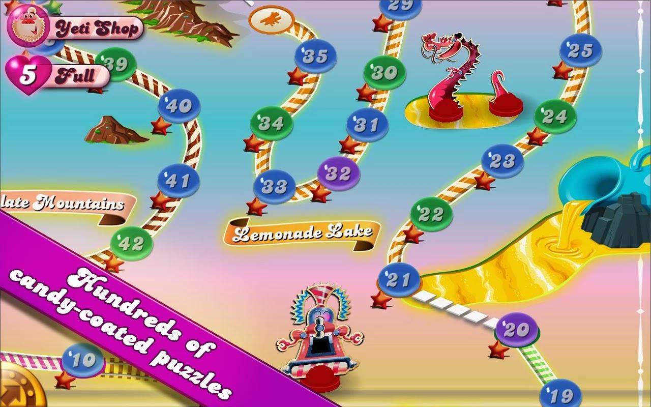 Candy Crush Saga v1.28.0 Mod [Unlimited Lives]