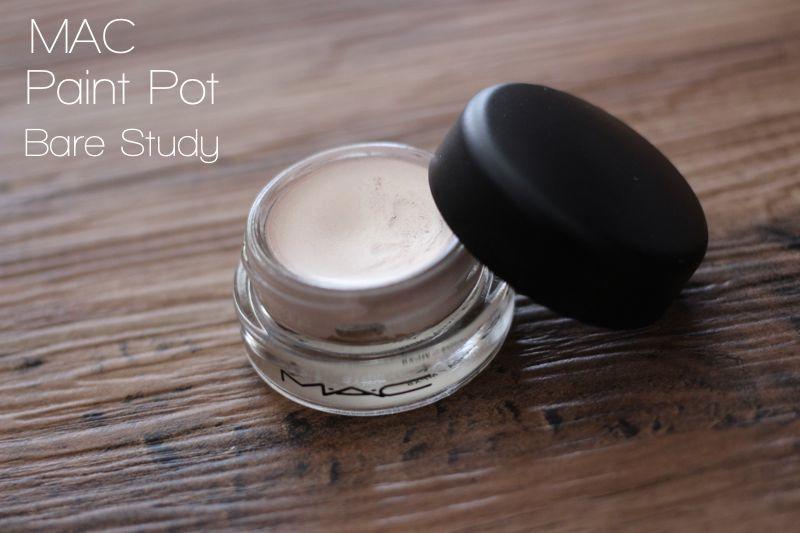 Makeupmarlin mac paint pot bare study for Mac pro longwear paint pot painterly