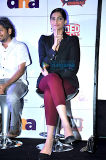Sonam Kapoor at DNA short films festival