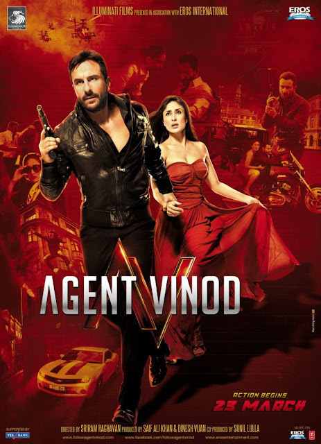Exclusive New HQ Poster of Agent Vinod | Featuring Kareena Kapoor | Malika Haydon | Saif Ali Khan | Other Girls