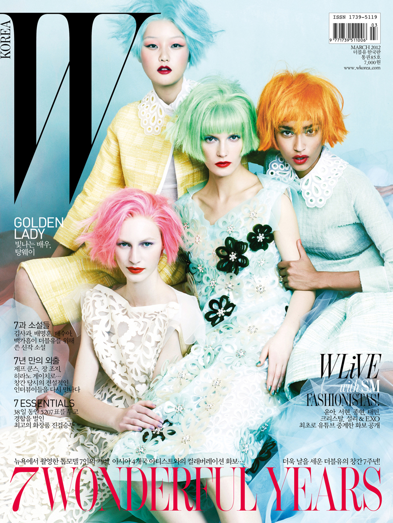 Louis Vuitton Spring/Summer 2012 photographed by Jang Hyun Hong for W Korea March 2012 Anniversary issue via fashioned by love british fashion blog