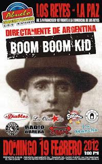 Boom Boom Kid en los Reyes La Paz