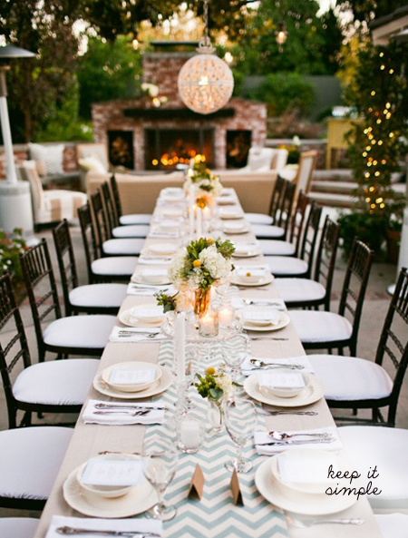 five kinds of happy: Design-a-wedding: The no-fuss Garden Wedding