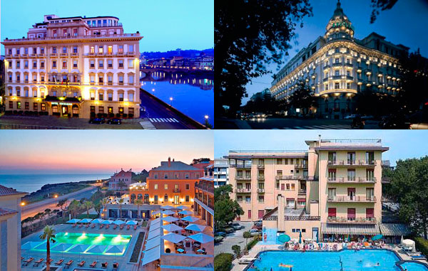 Отели Италии покорили мировую общественность