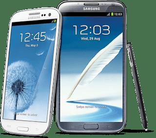 Samsung Galaxy S3 & Galaxy Note II