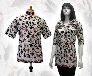 model baju seragam batik