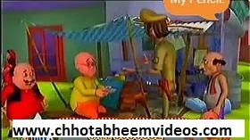 motu or patlu cartoon.PATLU BHUKKAD