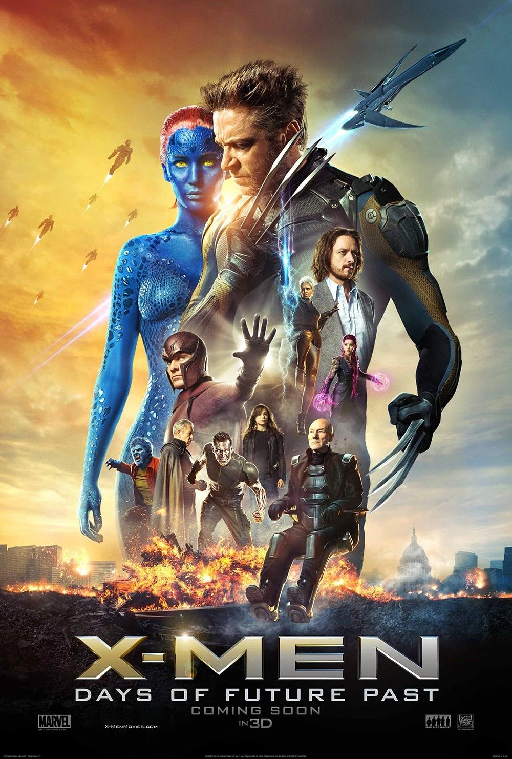 X-Men : Days of Future Past (2014) X-เม็น สงครามวันพิฆาตกู้อนาคต HD