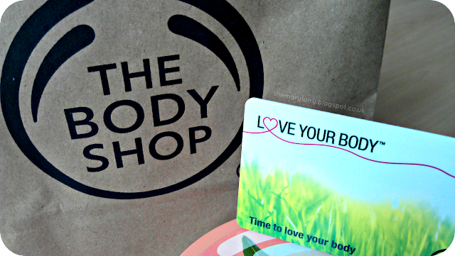 the body shop love your body card