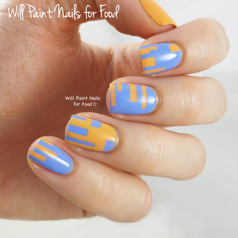 piCture pOlish + Nail Vinyls nail art